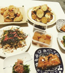momo's Aroma room 京都のリンパマッサージ & 子連れで行けるアロマサロン-最近ごはんこんなん食べてます